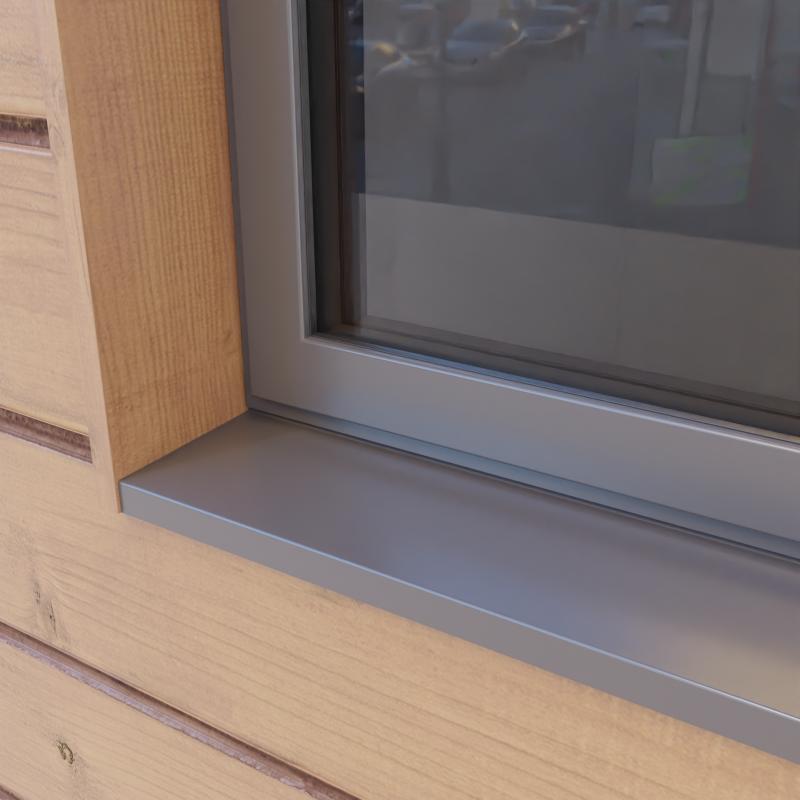 Sheerline aluminium windows Example