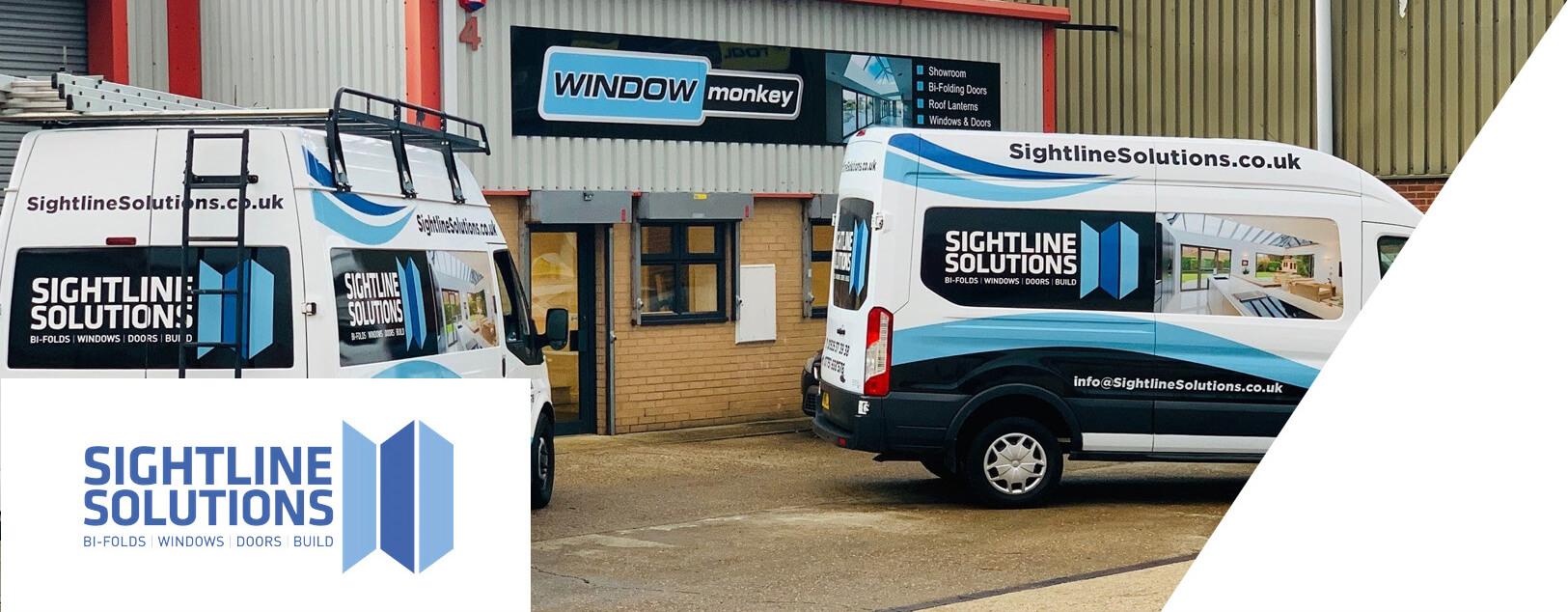 Sightline Solutions Vans Outside Window Monkey